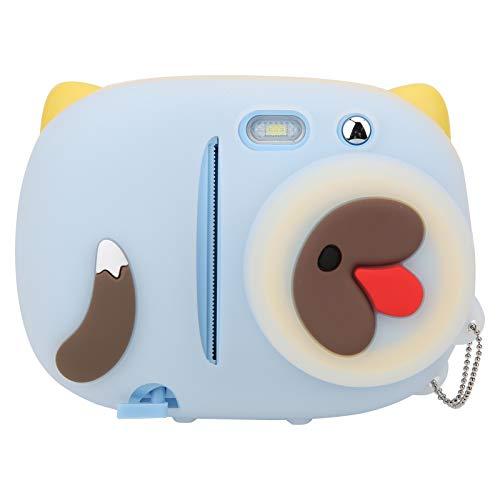 T opiky Cámara Digital para niños, grabadora de Video con cámara para niños de 24 MP con Pantalla LCD de 2.4'y Graffiti de fotografía con filtros múltiples para Regalos para niños(Azul)