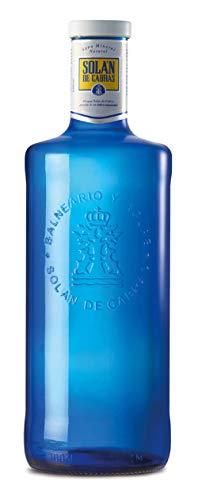 スリーボンド貿易 ソラン・デ・カブラス ナチュラルミネラルウォーター ガラス 1L×6本