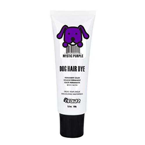 Opawz Dog Hair DYE Gel (Purple) Bright, Fun Shade, Semi-Permanent, Completely Non-Toxic Safe
