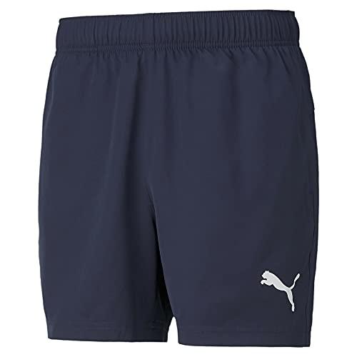 """PUMA Men's Active Woven Shorts 5"""" - Peacoat"""