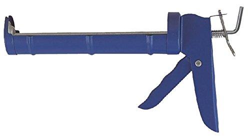 Edward Tools Drip Free Smooth Rod 10 oz Caulk Gun for standard Caulk tubes - 15:1 Thrust Ratio for all caulks - Industrial/DIY home use - All steel construction caulk gun for Dap, sealants, etc.