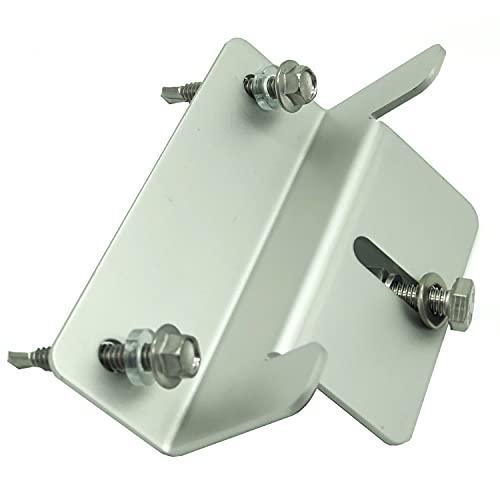 Soportes aluminio alta calidad para montaje de panel solar sobre caravana, barco, cubierta, tejado - tornillería y accesorios incluidos - fácil instalación