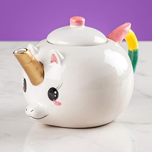 Teiera Unicorno in Porcellana per tè Tisane ed Altri infusi