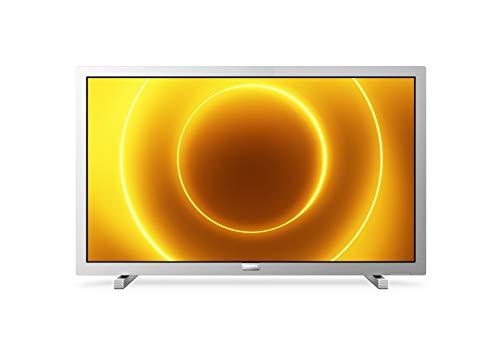 Philips 24PFS5525/12 24-Zoll-LED-Fernseher (Full HD, Pixel Plus HD, Full-Range-Lautsprecher, 2 x HDMI, VGA, USB) Mittelsilber [Modelljahr 2020]