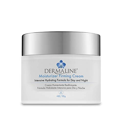 Dermaline - Moisturizer Firming Cream with Retinol, Vitamin E and Hyaluronic Acid 4 Oz. Jar