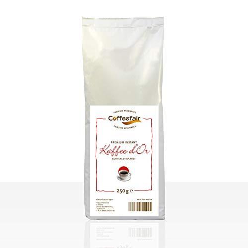 Instant-Kaffee für Kaffeevollautomaten | Coffeefair Premium d'Or 10 x 250g