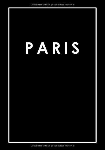 Paris: Coffee Table Book | Dekoratives Wohnaccessoire zum Ausschmücken von Regalen, Tischen, Fensterbänken und mehr! | Größe: L | Cover: Schwarz (Metropolen der Welt | L | Schwarz, Band 3)