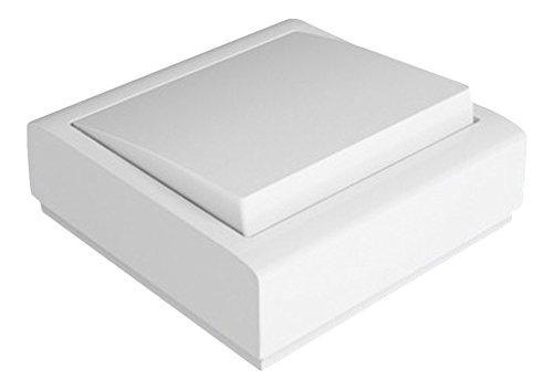 FAMATEL 8002 - Pulsador timbre superficie, 10A-250V, Blanco
