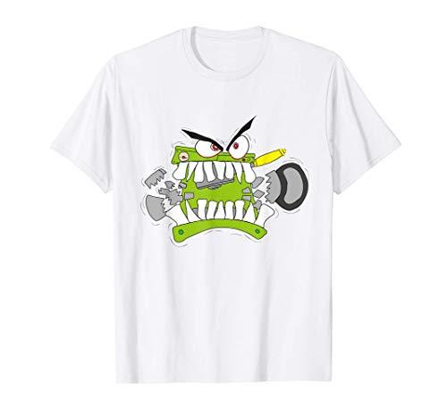 Cafetera mordiendo jarra Camiseta