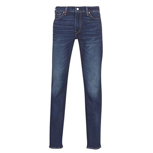 Levi's 511 Slim Fit Ama Dark Vintage Pants Hombre Navy Blue 33/32