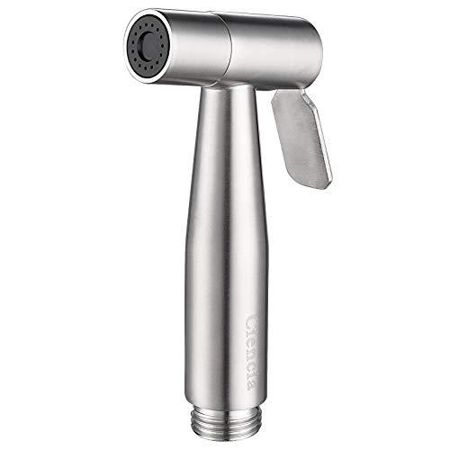 CIENCIA Hand Bidet Sprayer Premium Edelstahl Sprayer Shattaf - nur Bidet Sprühkopf für WC, Hand Bidet Sprayer für WC WS024