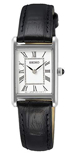 Seiko - Reloj analógico de Cuarzo para Hombre con Correa de Piel