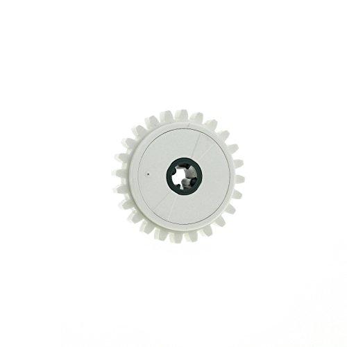 1 x Lego Technic Zahnrad 24 Zähne weiss Rutschkupplung Technik ( ohne 2.5 5.0 NcM ) für Set 9397 75098 9747 42055 76244c01 60c01