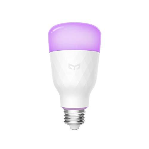 Yeelight A60 10W Smart Ambiance e27 LED Lampadina WiFi bianca e calda luce bianca, temperatura colore regolabile, controllabile tramite app, compatibile con Amazon Alexa e Google Assistant