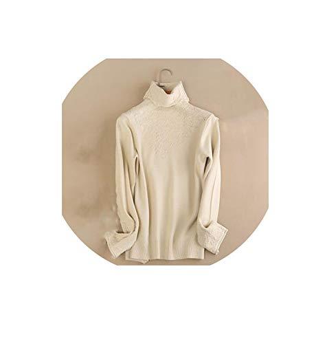 Carl Hamilton Pullover met rolkraag, van kasjmier, katoen, voor dames, herfst, winter, pullover