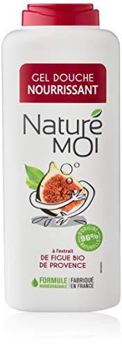 Naturé Moi – Gel douche à l'extrait de figue bio de Provence – Hydrate et nourrit les peaux normales à sèches – 400ml