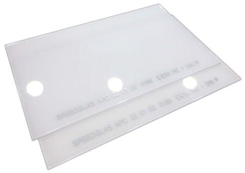 3M Vorsatzscheiben 10 Stk APC aussen von Speedglas Schutzscheibe Schweißmaske