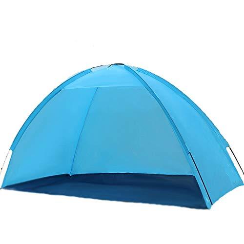 MAATCHH Tiendas de campaña cúpula Durable a Prueba de Agua al Aire Libre Carpa Carpa Capa de Camping Individual fácil Llevar Carpa Viajar de Senderismo (Color : Blue, Size : 200x100x110cm)