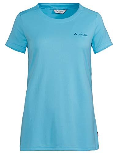VAUDE 413299800420 Essential T-Shirt pour Femme Bleu Cristal Taille 42