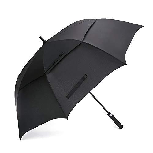 Prospo Golf Umbrella 68 inch Large Auto-Open Windproof Oversized Stick Vented Umbrellas Dark Green