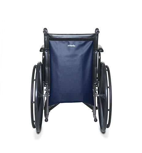 NYOrtho Wheelchair Footrest Bag/Leg Rest Bag/Footrest Extender Storage Bag (Fits Wheelchair Seat Widths 16