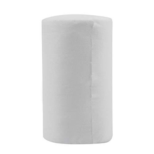 Fodere di pannolino pannolino pannolino usa e getta biodegradabile per bambini 100 fogli per 1 rotolo 18 cm x 30 cm (bianco) JBP-X