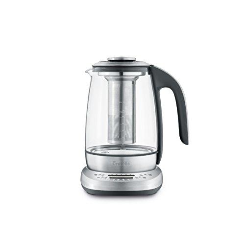 Breville BTM600CLR Smart Tea Infuser Tea Maker, Brushed Stainless Steel