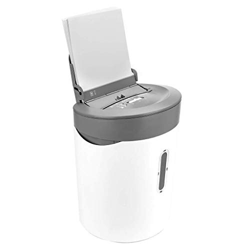 Best Deals! HIZLJJ Cross-Cut Paper Shredder,50Sheet Capacity,Exclusive Hybrid Technology Manual 6 Sh...