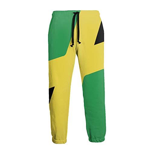 Sporthose, Jamaica Flag S Herren Damenweatpants, Kordelzughose , mit tiefen Taschen und Athletic Loose Design für Training, Training, Laufen, Jamaica Flag M.
