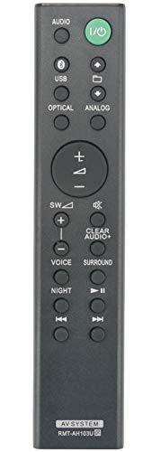 ALLIMITY RMT-AH103U Fernbedienung Ersetzte für Sony Sound Bar HT-CT80 SA-CT80 HTCT80 SACT80 RMTAH103U SS-WCT80 SSWCT80