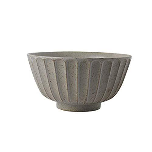 Cuenco de la cultura popular Tazón, estilo japonés Creatividad Tazón de cerámica Tazón de arroz for el hogar Tazón de porcelana Tazón grande Vajilla Tazón de ensalada Tazón de sopa 12.8 * 5.5 * 6.5cm