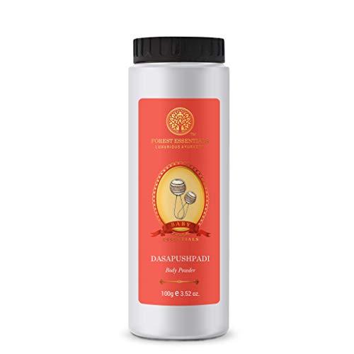 Forest Essentials Dasapushpadi Baby Body Powder, 63.4 oz