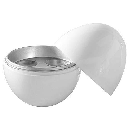 Kamenda Egg Pod - Hervidor de Huevos para Microondas Hervidor de Huevos Vaporera para Huevos Cocinar los Huevos Perfectamente y Separar la CáScara