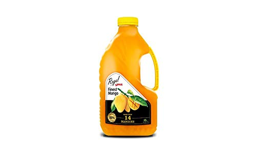 Regal Bakery Mango Juice 2L- Source of Antioxidants & Vitamins | Summer Drinks | Healthy Drinks On The Go - Healthy & Nutritious - Ready to Sip Juices | Energy Drink