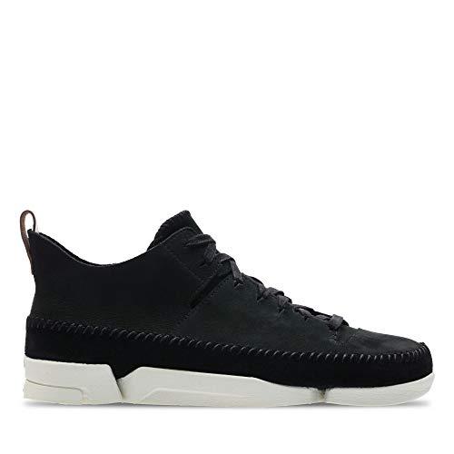 Clarks Originals Trigenic Flex męskie buty sportowe, czarny - Schwarz Black Nubuck - 43 EU