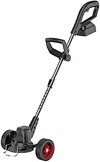 Electric Lawn Mower Small Household Lawn Mower Rechargeable Portable Lawn Mower Hand Push 10 Sections 2 Electric Charger 1...
