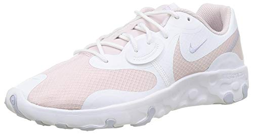Nike Renew Lucent II, Sneaker Mujer, White/Barely Rose-Ghost, 37.5 EU