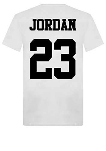 Unisex Jordan 23 T-Shirt, Top, Michael Air MJ, Chicago Bulls, Basketball, Washington, Jordans Gr. LARGE 14/16 UK , weiß
