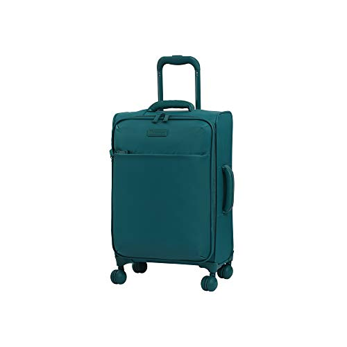 it luggage 22' Lustrous Softside Expandable Carry-On, Harbor Blue