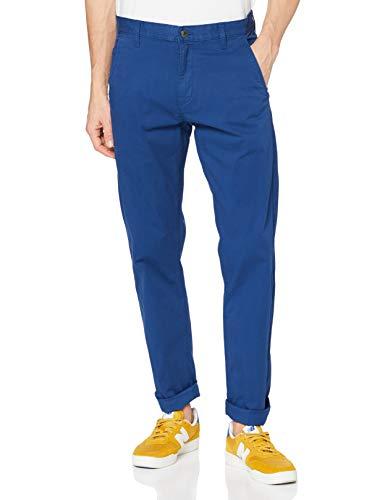 Dockers Alpha Original Khaki Slim-Lite Pantalones, Estate Blue, 33W x 32L para Hombre