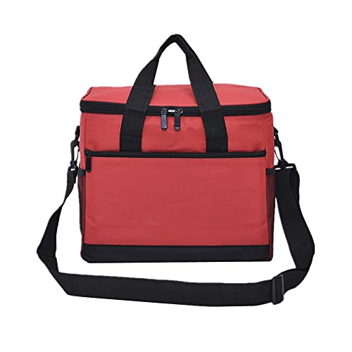 Cheaonglove Bolsa TéRmica Bolsa Termica Porta Alimentos Bolsas de Almuerzo para Mujer Bolsa de Almuerzo para niñas Gran Almuerzo Bolsa Red,One Size