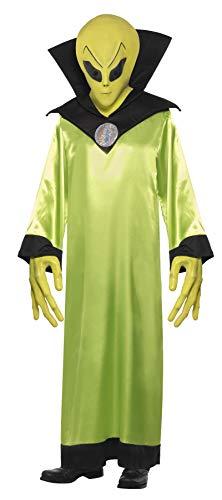 Smiffys Costume Lord Alien, avec robe, masque & mains