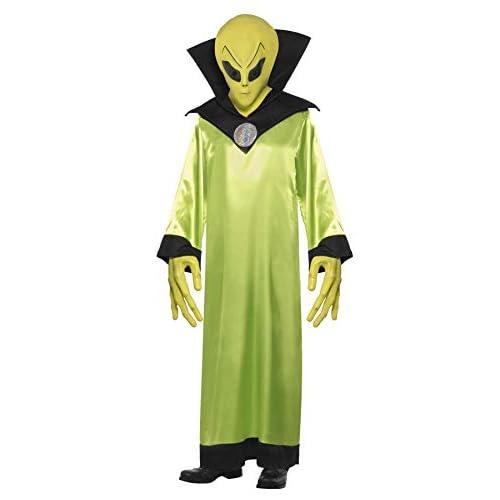 SMIFFYS Costume Lord Alieno, comprende Veste, Maschera e Mani