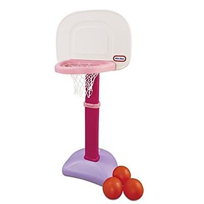 Little Tikes Easy Score Basketball Set, Pink, 3 Balls - Amazon Exclusive