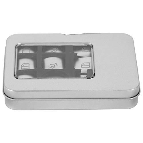 BOINN Etiqueta Engomada del Botón de La Elevación del Vidrio de La Ventanilla del Coche para Mercedes B C E Gla Cla Glk GL Ml Gle Clase