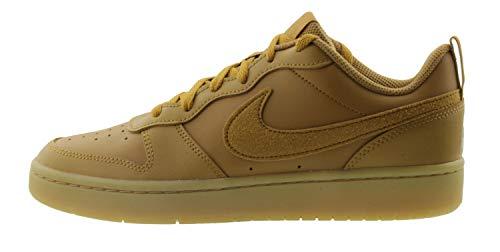 Nike Court Borough Low 2, Zapatillas de Baloncesto para Niños, Multicolor (Wheat/Wheat/Gum Light Brown 700), 36 EU