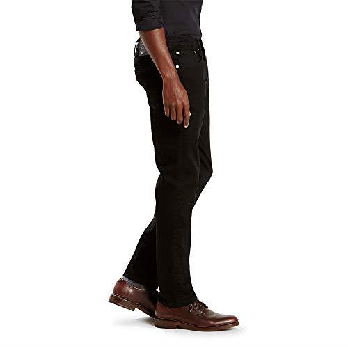 Levi's Men's 511 Slim Fit Jean, Black – Stretch, 32W x 32L