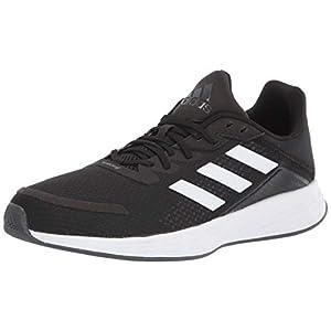 adidas Men's Duramo SL Running Shoe, Black/White/Grey, 9.5