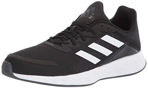 adidas Men's Duramo SL Running Shoe, Black/White/Grey, 10.5