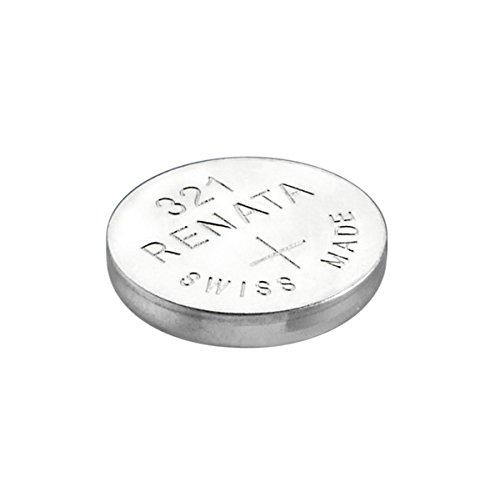Renata / Swatch Group - Pila botón óxido de plata 321 RENATA 1.55V 14.5mAh - Blister(s) x 1